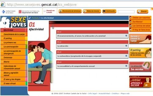 abrir web educacion sexual generalitat
